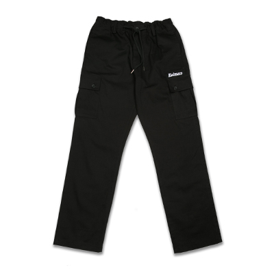 BANDING CARGO PANTS_BLACK