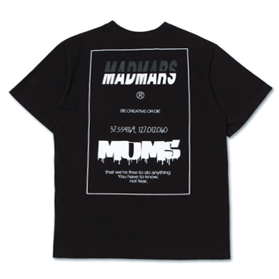 [season off 30%sale]DRIBBLE LOGO T-SHIRTS_BLACK