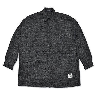 OVERSIZED WOOL CHECK SHIRTS