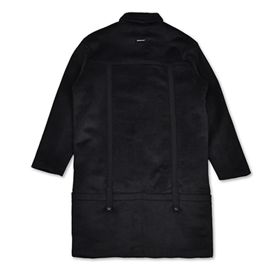 REAR POCKET SINGLE COAT_BLACK
