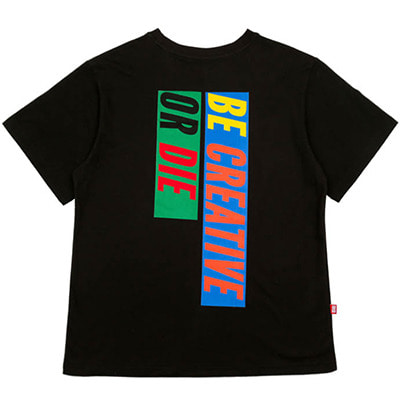[10%할인]6 SLOGAN T-SHIRTS (BLACK)