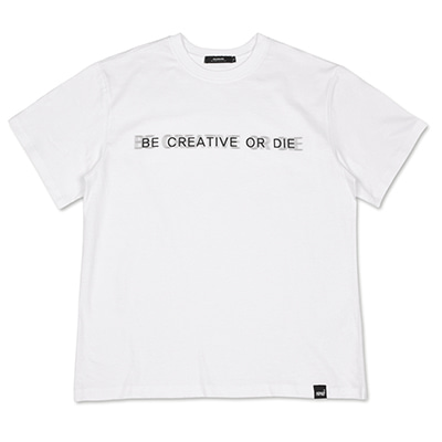 BASIC SLOGAN T-SHIRTS_WHITE
