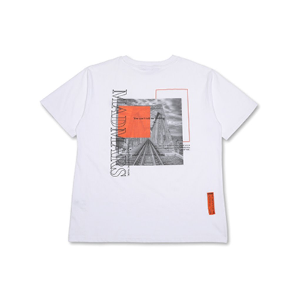 TRAIN WRECK T-SHIRTS_WHITE
