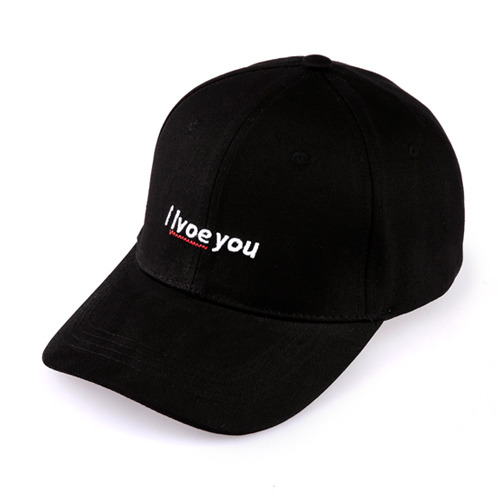 I LVOE YOU BALLCAP - [Black]
