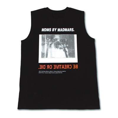 [season off 30%sale]BACKPRINTING SLEEVELESS_BLACK