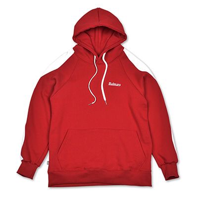 WAVY LINE TRAINING HOODIE_RED
