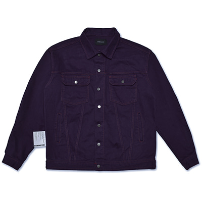 STITCH RUGGED JACKET_PURPLE