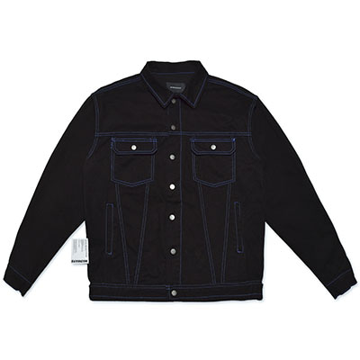 STITCH RUGGED JACKET_BLACK