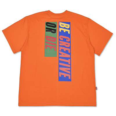 6 SLOGAN T-SHIRTS_ORANGE