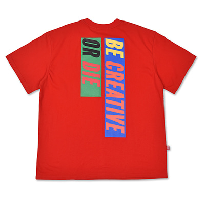 6 SLOGAN T-SHIRTS_RED